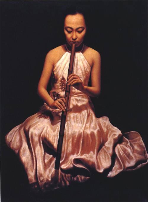 Flute | Li Feng Di | Oil Painting