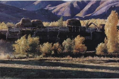 TianShan Mountain | Hong Chen | Oil Painting