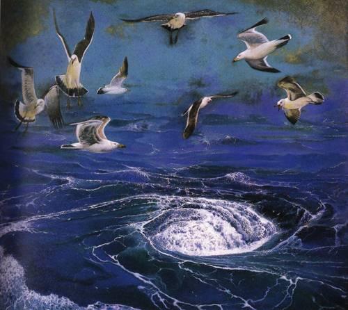 Japanese Picture 031 | Ocean's Bridge Artist | Oil Painting