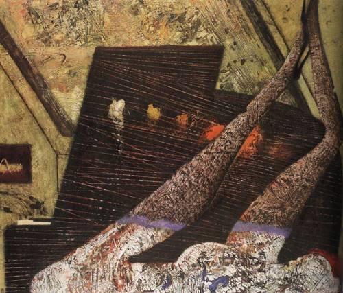Japanese Picture 040 | Ocean's Bridge Artist | Oil Painting