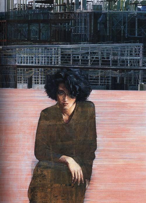Japanese Picture 053 | Ocean's Bridge Artist | Oil Painting