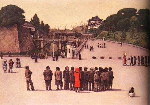 Japanese Picture 058 | Ocean's Bridge Artist | Oil Painting