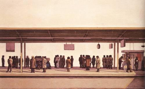 Japanese Picture 060 | Ocean's Bridge Artist | Oil Painting