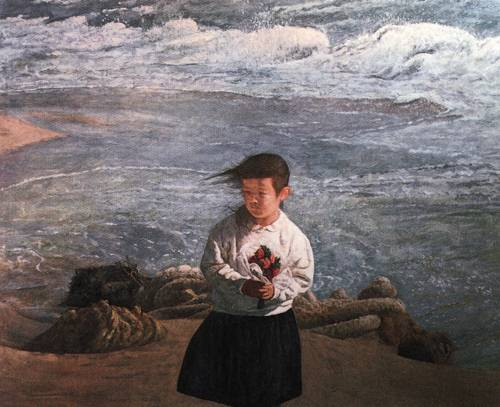 Japanese Picture 065 | Ocean's Bridge Artist | Oil Painting