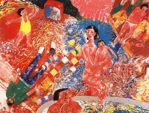 Japanese Picture 069 | Ocean's Bridge Artist | Oil Painting