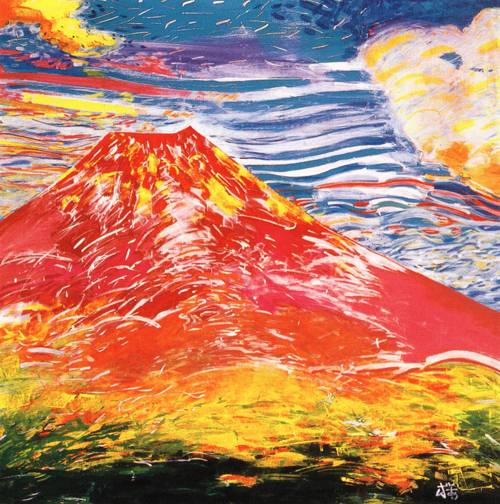 Japanese Picture 071 | Ocean's Bridge Artist | Oil Painting