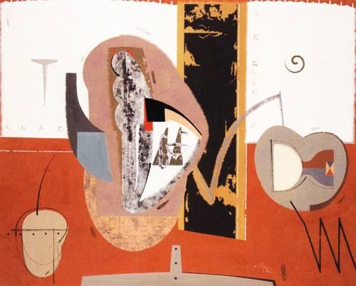 Japanese Picture 076 | Ocean's Bridge Artist | Oil Painting