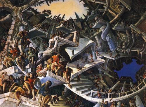 Japanese Picture 080 | Ocean's Bridge Artist | Oil Painting
