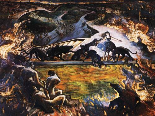 Japanese Picture 081 | Ocean's Bridge Artist | Oil Painting