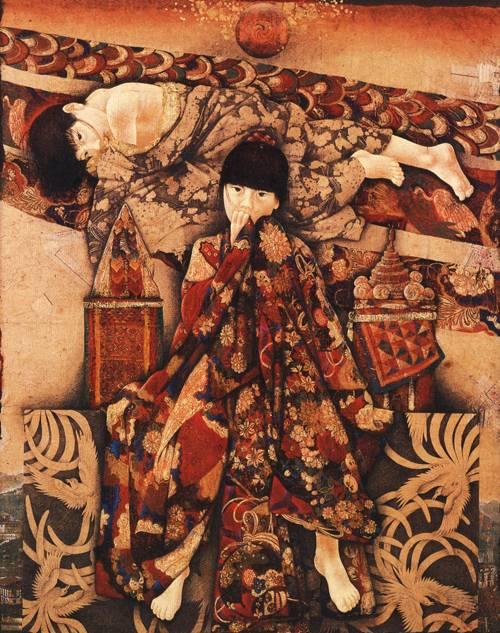 Japanese Picture 082 | Ocean's Bridge Artist | Oil Painting