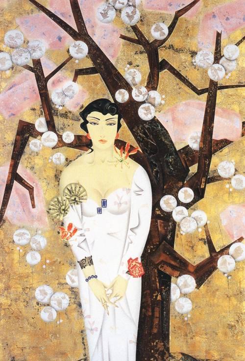 Japanese Picture 107 | Ocean's Bridge Artist | Oil Painting