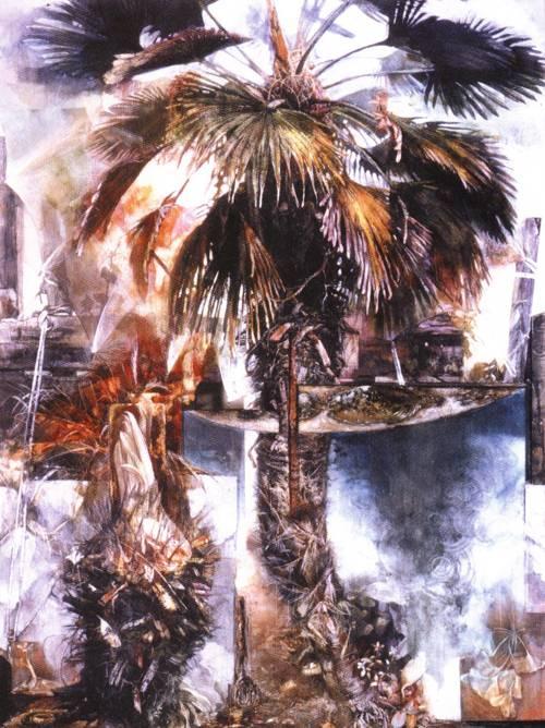 Japanese Picture 119 | Ocean's Bridge Artist | Oil Painting