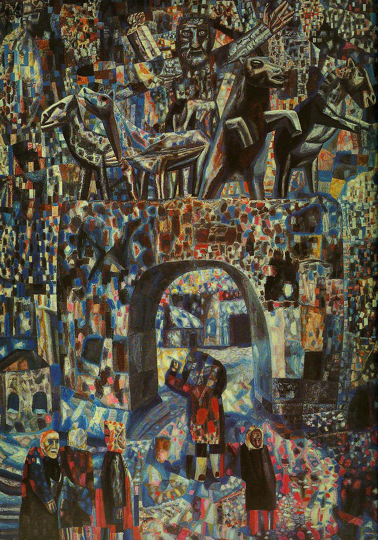 Contemporary Russian 100 | Ocean's Bridge Artist | Oil Painting