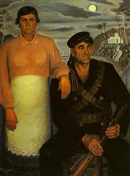 Contemporary Russian 118   Ocean's Bridge Artist   Oil Painting