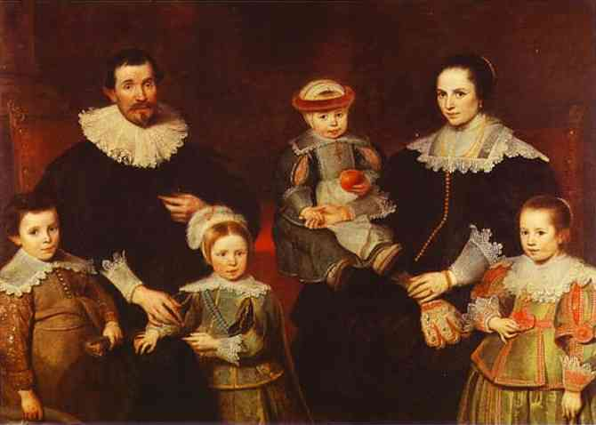 The Family Of The Artist 1630-1635 | Cornelis De Vos | Oil Painting