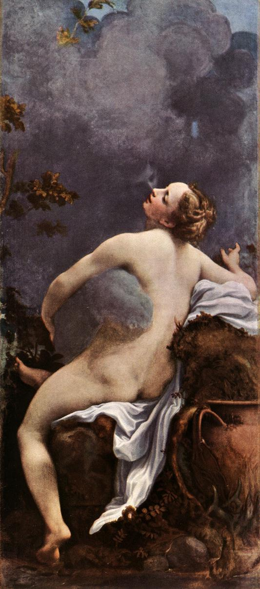 Jupiter And Io 1531-32 | Correggio | Oil Painting