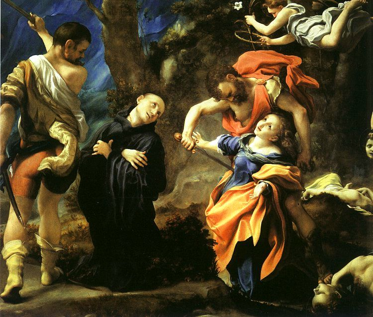 Martyrdom Of Four Saints | Correggio | Oil Painting