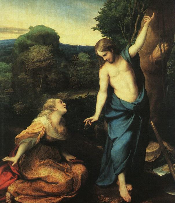 Noli Me Tangere 1525 | Correggio | Oil Painting