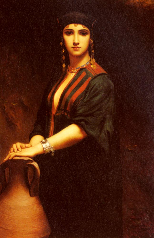 A Portrait Of A Woman | Count Johann Georg Otto von Rosen | Oil Painting