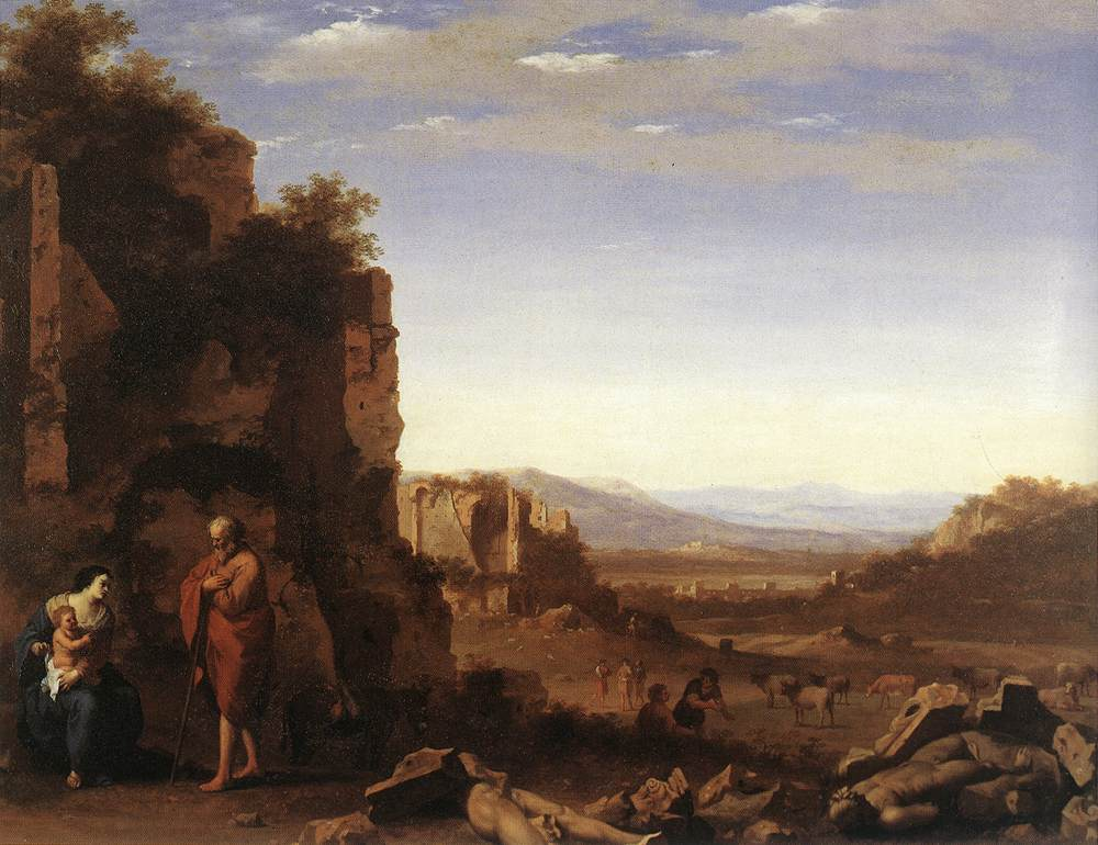 Rest On The Flight Into Egypt 1640
