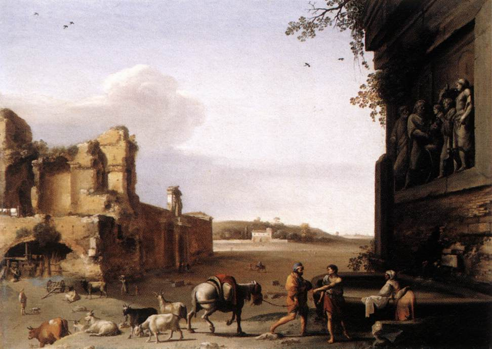 Ruins Of Ancient Rome 1620
