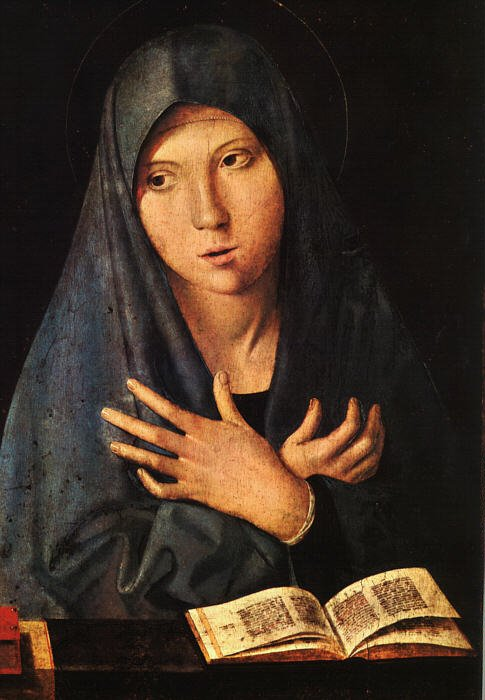 Virgin Of The Annunciation | Da Messina Antonello | Oil Painting
