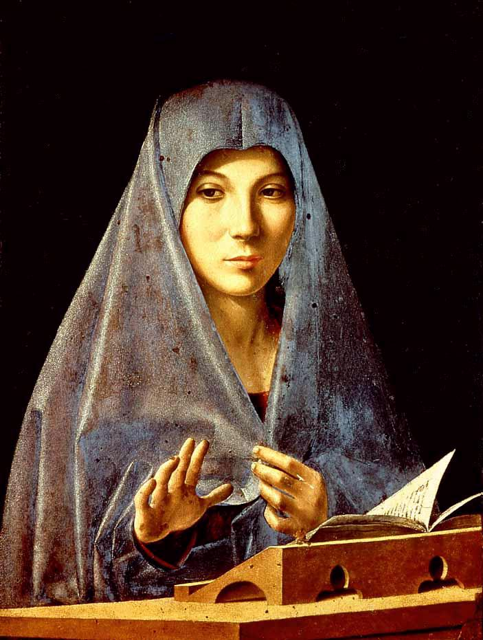 Virgin Annunciated 1476 | Da Messina Antonello | Oil Painting