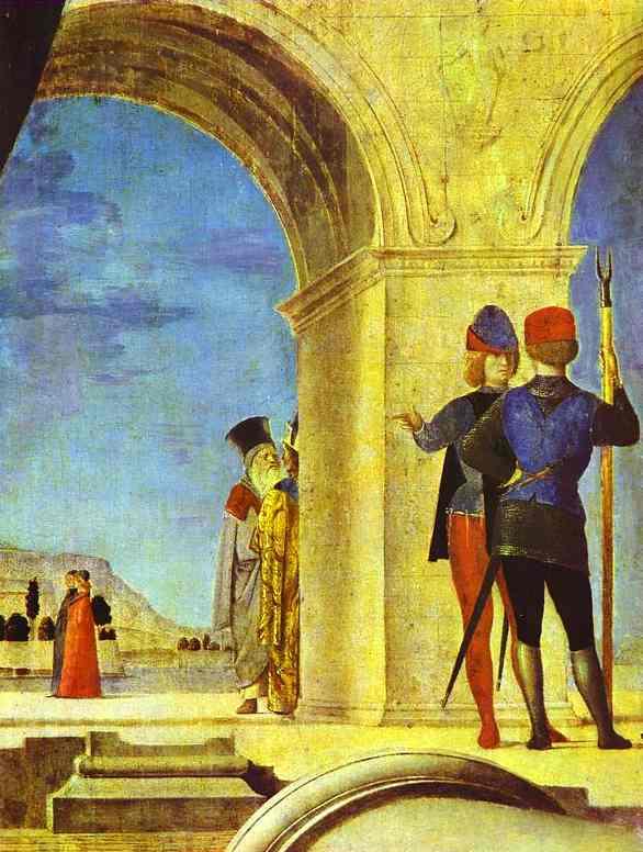 St Sebastian Detail 1475-76 | Da Messina Antonello | Oil Painting
