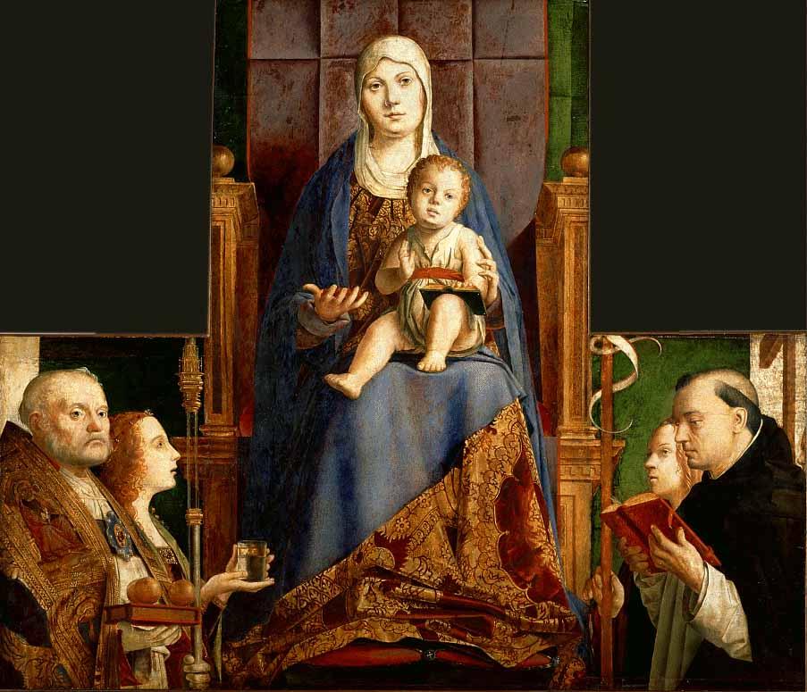 San Cassiano Altar 1475-76   Da Messina Antonello   Oil Painting