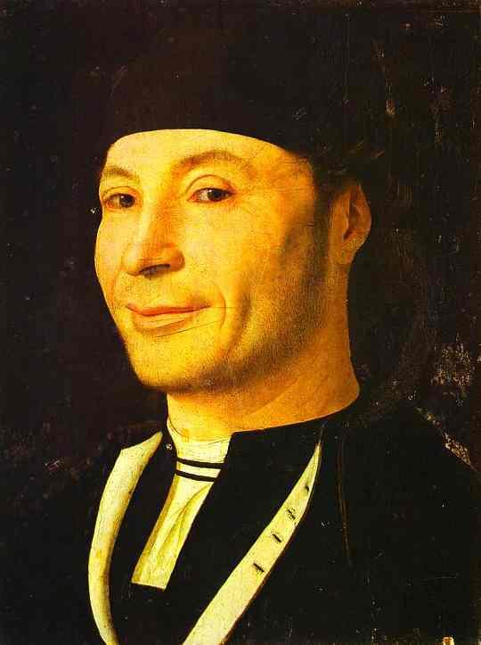 Portrait Of Unknown Man | Da Messina Antonello | Oil Painting