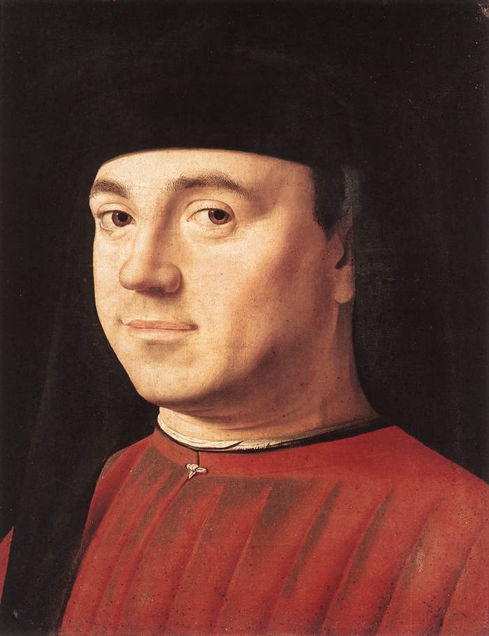 Portrait Of A Man 1475 | Da Messina Antonello | Oil Painting
