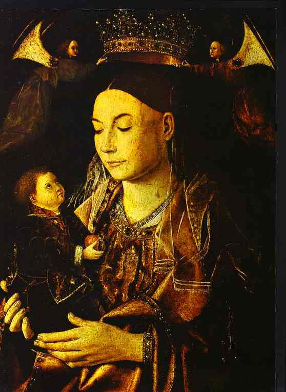 Madonna And Child | Da Messina Antonello | Oil Painting