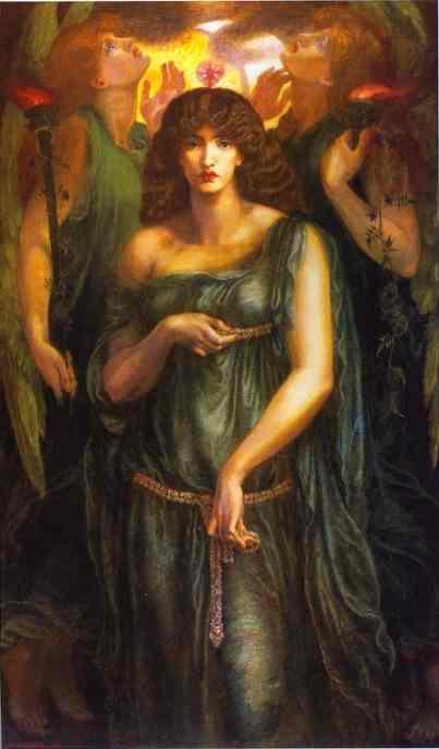 Astarte Syriaca 1877 | Dante Gabrie Rossetti | Oil Painting