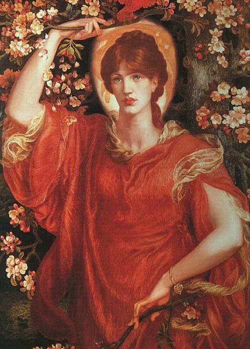 A Vision of Fiammetta 1878 | Dante Gabriel Rossetti | Oil Painting