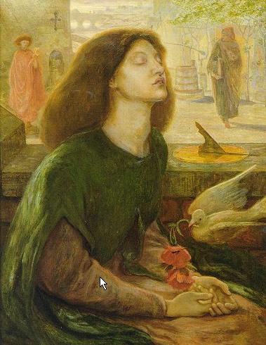Beata Beatrix 1877 | Dante Gabriel Rossetti | Oil Painting