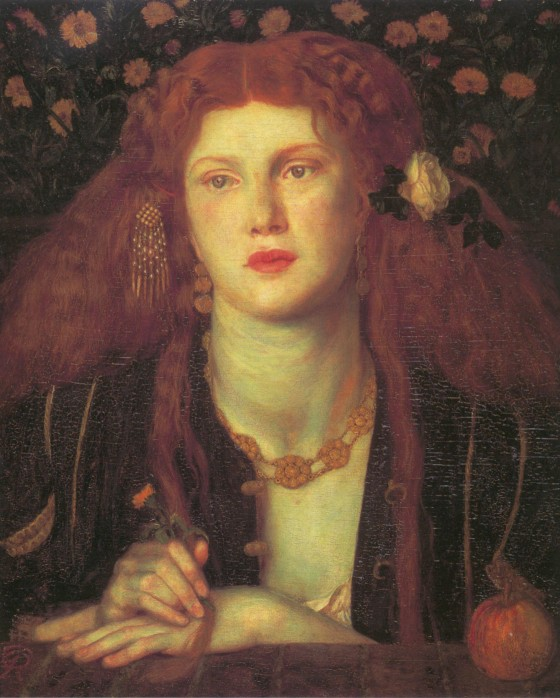 Bocca Baciata 1859 | Dante Gabriel Rossetti | Oil Painting