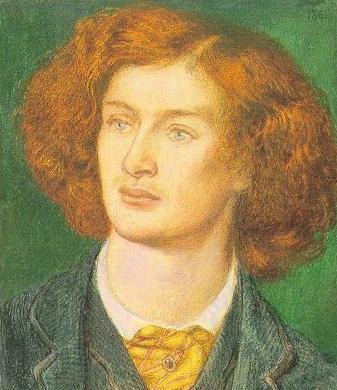 Charles Algernon Swinburne | Dante Gabriel Rossetti | Oil Painting