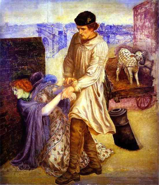 Found 1854 | Dante Gabrie Rossetti | Oil Painting