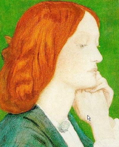 Elizabeth Siddal | Dante Gabriel Rossetti | Oil Painting