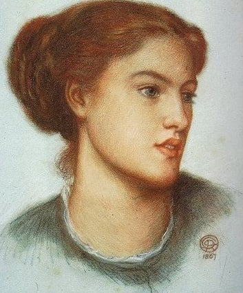 Ellen Smith 1870 1872 | Dante Gabriel Rossetti | Oil Painting