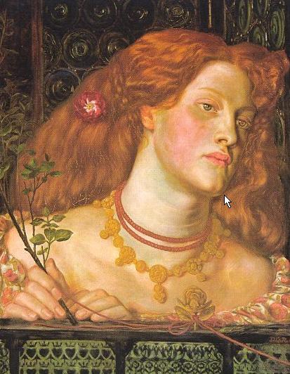 Fair Rosamund 1861 | Dante Gabriel Rossetti | Oil Painting