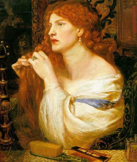 Fazio's Mistress 1863 | Dante Gabriel Rossetti | Oil Painting