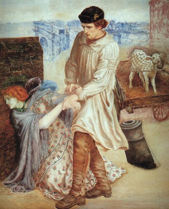 Found 1854 | Dante Gabriel Rossetti | Oil Painting