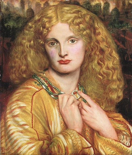 Helen of Troy 1863 | Dante Gabriel Rossetti | Oil Painting