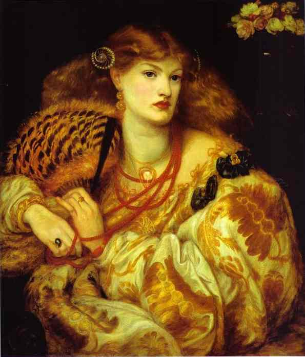 Monna Vanna 1866 | Dante Gabrie Rossetti | Oil Painting