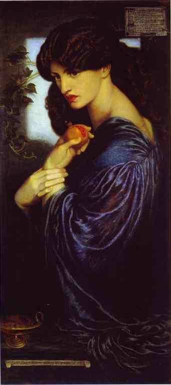 Proserpine 1874 | Dante Gabrie Rossetti | Oil Painting