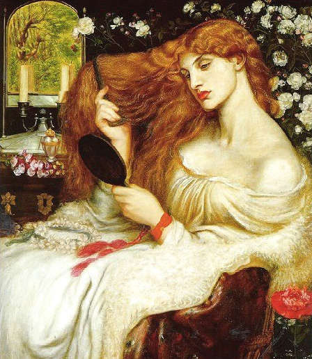 Lady Lilith 1864 1868 | Dante Gabriel Rossetti | Oil Painting