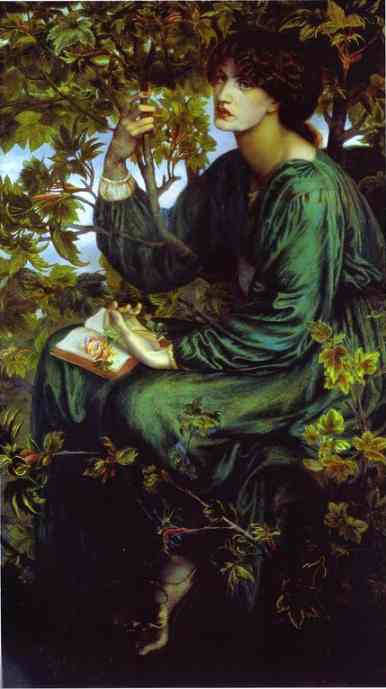 The Day Dream 1880 | Dante Gabrie Rossetti | Oil Painting