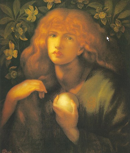 Mary Magdalen 1877 | Dante Gabriel Rossetti | Oil Painting