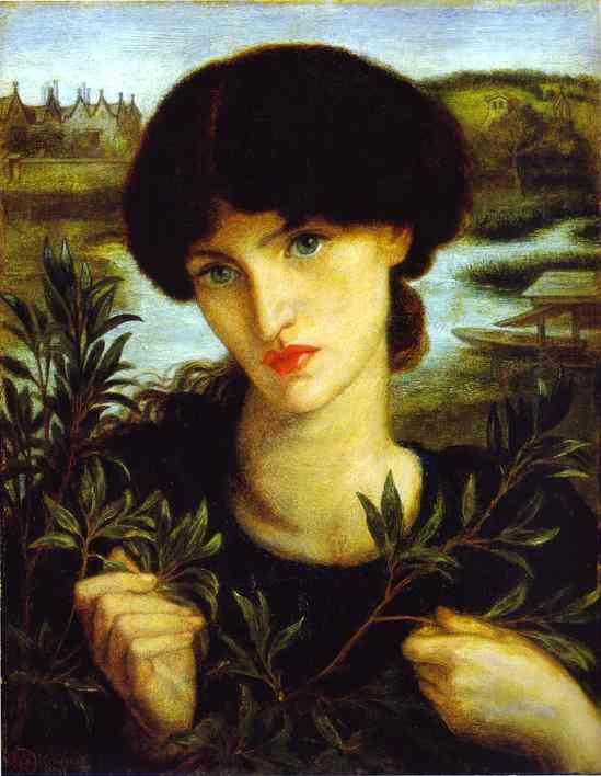 Water Willow 1871 | Dante Gabrie Rossetti | Oil Painting
